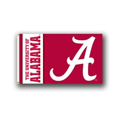 Alabama Script A House Flag 3'x5'