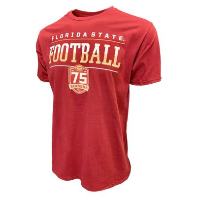 Florida State Football 75 Year Anniversary T-Shirt