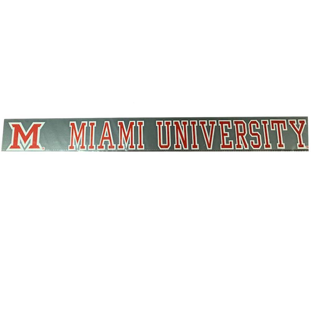 Miami M Miami University Decal
