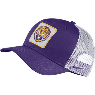 LSU Nike Vault C99 Tiger Head Logo Trucker Hat