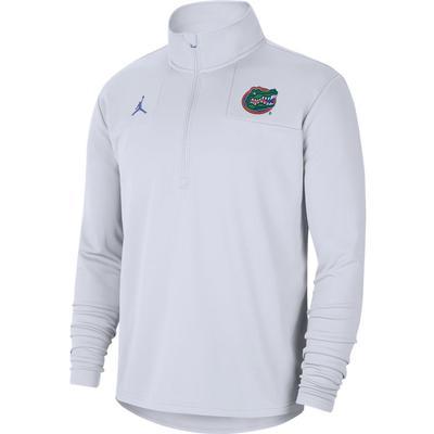 Florida Jordan Brand Coach Top Half Zip Pullover