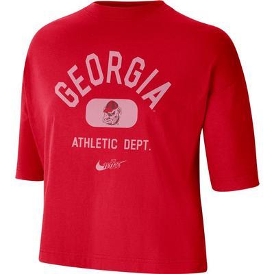 Georgia Nike Women's Boxy Tee