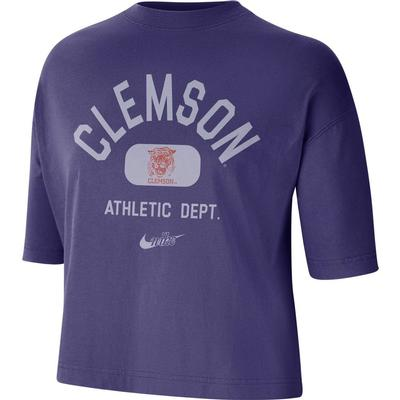Clemson Nike Women's Boxy Tee
