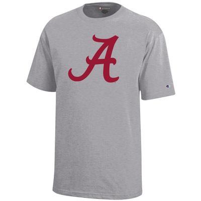 Alabama Champion YOUTH Giant Logo Tee