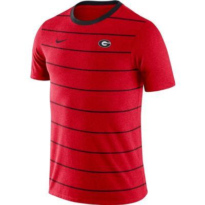 Georgia Nike Short Sleeve Tri-blend GFA Inspired Tee