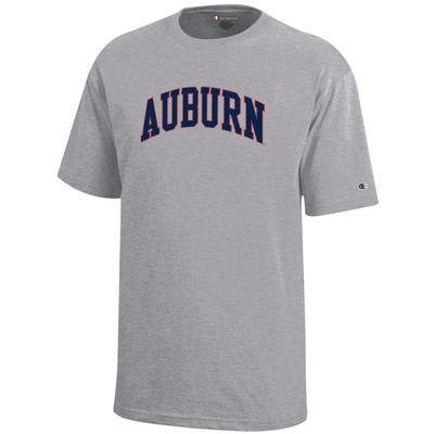 Auburn Champion YOUTH Arch Tee