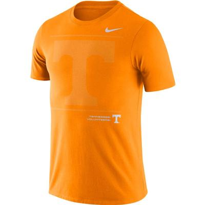 Tennessee Nike Team Issued Short Sleeve Dri-fit Cotton Tee