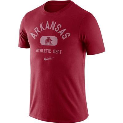Arkansas Nike Vault Short Sleeve Old School Tee