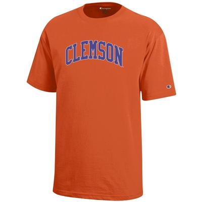 Clemson Champion YOUTH Arch Tee