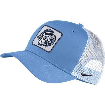 UNC Nike Vault C99 Ram Head Logo Trucker Hat