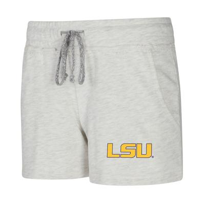 LSU Ladies Concept Sports Mainstream Terry Shorts