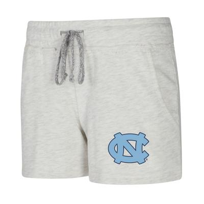 UNC Ladies Concept Sports Mainstream Terry Shorts