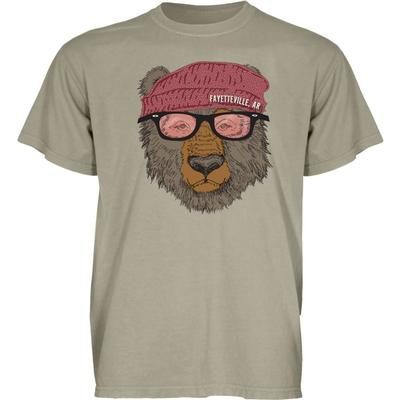 Blue 84 Fayetteville Bear with Sunglasses Short Sleeve Tee