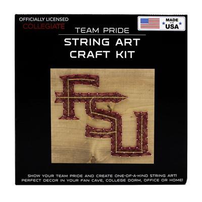 Florida State Team Pride String Art Kit