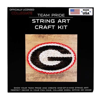 Georgia Team Pride String Art Kit