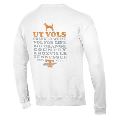 Tennessee Tri-star Hound Comfort Colors Crew