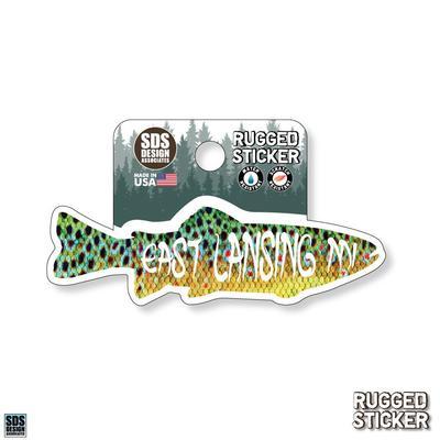 Seasons Design Lansing Fish 3.25