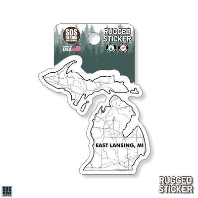 Seasons Design Lansing State Map 3.25