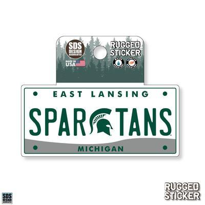 Michigan State Seasons Design License Plate 3.25
