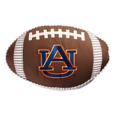 Auburn Glory Haus Football Pillow
