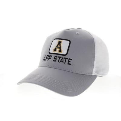Appalachian State Legacy Square Patch Trucker Hat