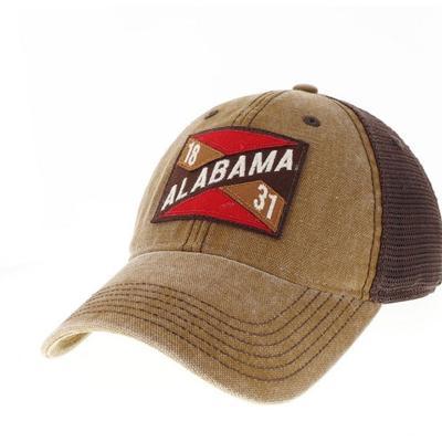 Alabama Legacy Frayed X Patch Hat