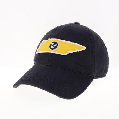 Legacy Gold TN State with Navy Tri-star Adjustable Hat