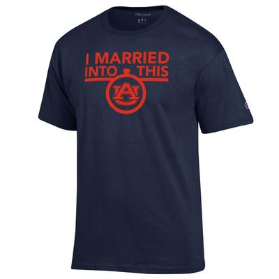 Auburn Champion Women's I Married Into This Tee