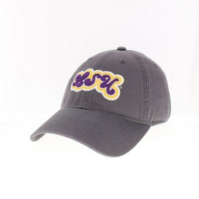 LSU Legacy Women's Groovy Font Hat