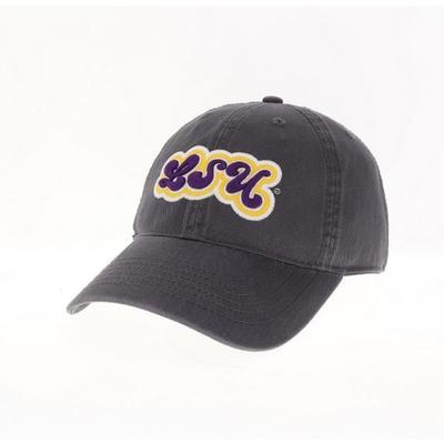 LSU Legacy YOUTH Groovy Font Hat
