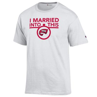Western Kentucky Champion Women's I Married Into This Tee