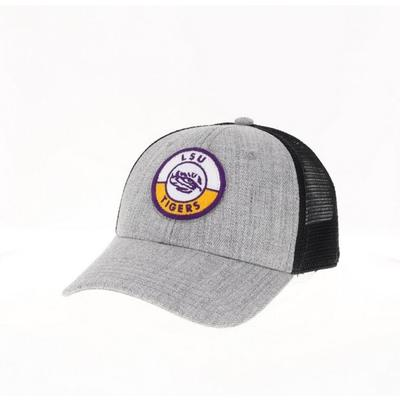 LSU Legacy YOUTH Road Patch Trucker Hat