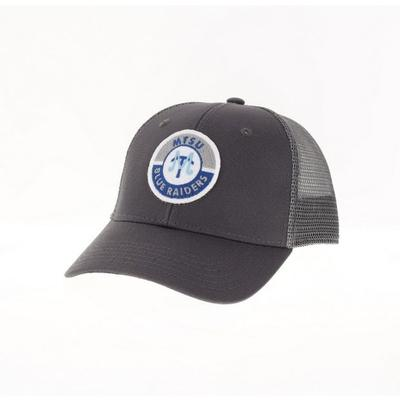 MTSU Legacy YOUTH Road Patch Trucker Hat