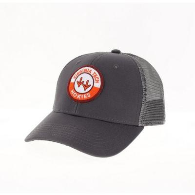 Virginia Tech Legacy YOUTH Road Patch Trucker Hat