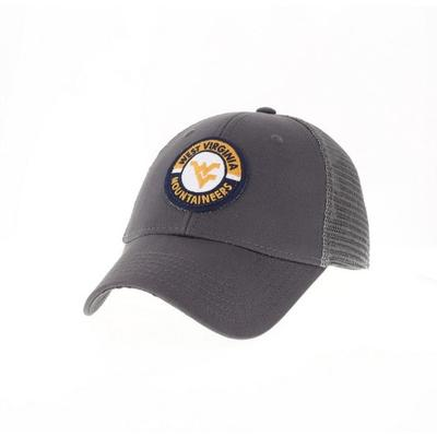 West Virginia Legacy YOUTH Road Patch Trucker Hat