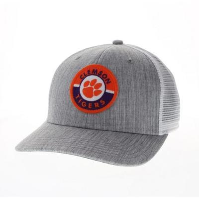Clemson Legacy Road Patch Trucker Hat