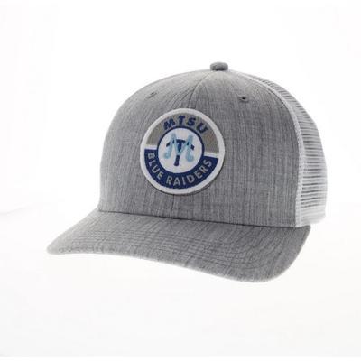 MTSU Legacy Road Patch Trucker Hat