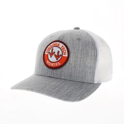 Virginia Tech Legacy Road Patch Trucker Hat