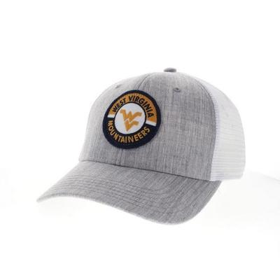 West Virginia Legacy Road Patch Trucker Hat