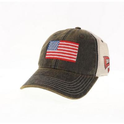 Western Kentucky Legacy US Flag Trucker Hat