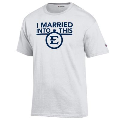 ETSU Champion Women's I Married Into This Tee