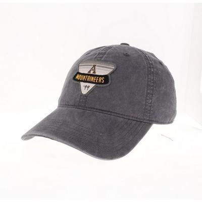 Appalachian State Legacy Triangle Patch Adjustable Hat