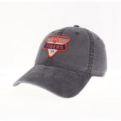 Clemson Legacy Triangle Patch Adjustable Hat