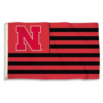 Nebraska BSI Americana 3 x 5' Flag
