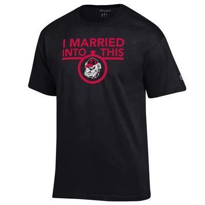 Georgia Champion Women's I Married Into This Tee