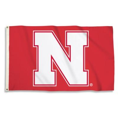Nebraska BSI Primary 3 x 5' Flag