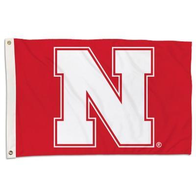 Nebraska BSI Primary 2 x 3' Flag
