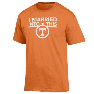 Tennessee Champion Women's I Married Into This Tee
