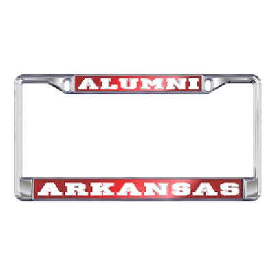 Arkansas Alumni License Plate Frame