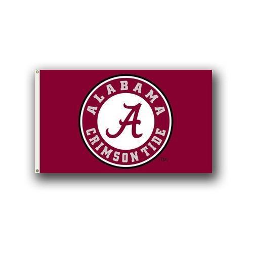 Alabama Circle Logo House Flag 3 ' X5 '